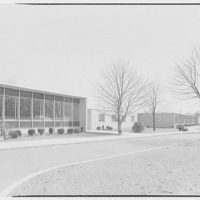 Parochial school, Central Islip, Long Island. Exterior I