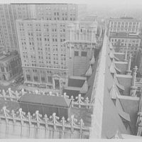 Prudential Insurance Co., Newark, New Jersey. Detail from tower I