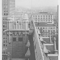 Prudential Insurance Co., Newark, New Jersey. Detail from tower IV