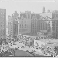 Prudential Insurance Co., Newark, New Jersey. Group from public service