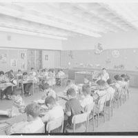 Public School 220, Horace Harding Blvd., Forest Hills, Long Island. Classroom