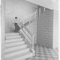 Public School 220, Horace Harding Blvd., Forest Hills, Long Island. Stairway