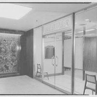 Renoir Fabrics, 1400 Broadway, New York City. Entrance detail