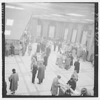 Seamen's Bank for Savings. Banking floor IV