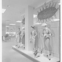 Best's department store, business in Abington, Pennsylvania. Display, to lingerie