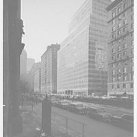 Colgate-Palmolive Building, 300 Park Ave., New York City. From 51st St.