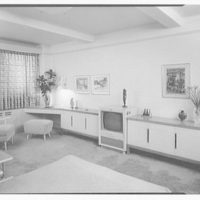 Dr. M. Scharfstein, residence at 118 Riverside Dr., New York. Bedroom I