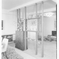 Dr. M. Scharfstein, residence at 118 Riverside Dr., New York. Partition