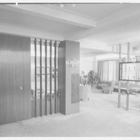 Dr. M. Scharfstein, residence at 118 Riverside Dr., New York. Vista from entrance foyer