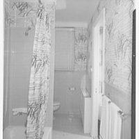 F. Schumacher & Co., 60 W. 40th St. Model apartment, bathroom