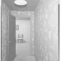 F. Schumacher & Co., 60 W. 40th St. Model apartment, hall