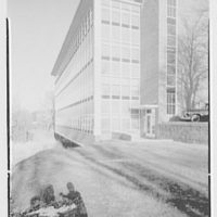 Fairleigh Dickinson University, Science Building, Teaneck, Rear, sharp