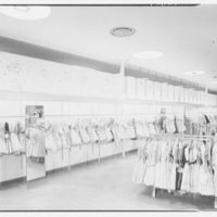 Gimbels, business in Valley Stream, Long Island. Girls' dresses