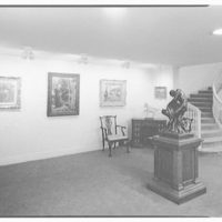 Hirschl & Adler Gallery, 21 E. 67th St., New York. First floor, to staircase