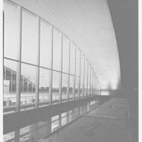 Idlewild Airport arrivals building. Exterior at night II
