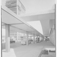 Idlewild Airport arrivals building. Exterior IV