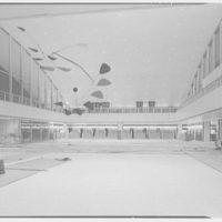 Idlewild Airport arrivals building. Interior at night I