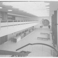 Idlewild Airport arrivals building. KLM interior I