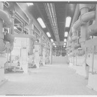 Idlewild International Airport. Power plant, interior