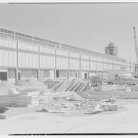 Idlewild National Airport. Arrival building, glass panel I