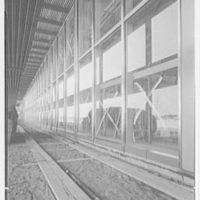 Idlewild National Airport. Arrival building, glass panels II
