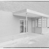 Marine Midland Trust Co., 163rd St., Jamaica, New York. Exterior, north entrance
