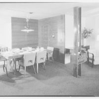 Mr. and Mrs. Gustav Jaff, residence on Atkinson Rd., Rockville Centre. Dining room table II