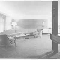 Mr. and Mrs. Gustav Jaff, residence on Atkinson Rd., Rockville Centre. Living room group II