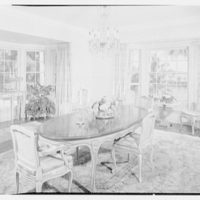 Mr. and Mrs. J.E. Kiernan, residence in Stuart, Florida. Dining room I