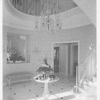 Mr. and Mrs. J.E. Kiernan, residence in Stuart, Florida. Entrance hall II