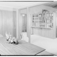 Mr. and Mrs. Oscar M. Ruebhausen, residence on Charles Rd., Mount Kisco. Bar from dining room