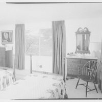 Mr. and Mrs. Oscar M. Ruebhausen, residence on Charles Rd., Mount Kisco. Bedroom