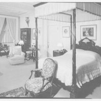 Mrs. Louis Brugiere, Wakehurst, residence in Newport, Rhode Island. Yellow room I (bedroom)