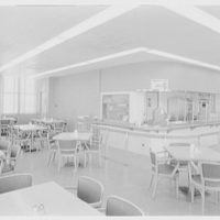 New Jersey Turnpike Authority, office building, New Brunswick. Cafeteria II