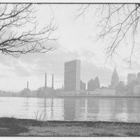 New York City views. Midtown from Welfare Island I, 3:45 p.m.