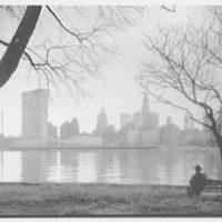 New York City views. Midtown from Welfare Island II, 4:00 p.m.