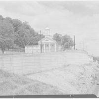 Presbyterian Church of Mount Kisco. View from bridge