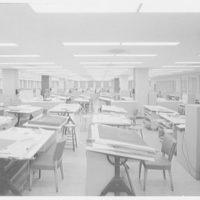 Raymond Loewy Corporation. Drafting room