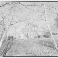 Stedman Hanks, residence in Locust Valley, Long Island. West and south facade