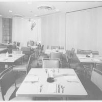 Terrace Restaurant, Fred Harvey Corp., Capital Ct., Milwaukee, Wisconsin. Coffee shop, to dining room