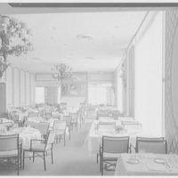 Terrace Restaurant, Fred Harvey Corp., Capital Ct., Milwaukee, Wisconsin. Daylight, view to coffee shop