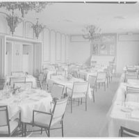 Terrace Restaurant, Fred Harvey Corp., Capital Ct., Milwaukee, Wisconsin. Dining room, general view, daylight