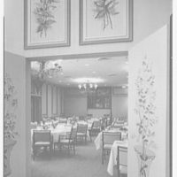 Terrace Restaurant, Fred Harvey Corp., Capital Ct., Milwaukee, Wisconsin. General view, dining room