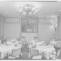 Terrace Restaurant, Fred Harvey Corp., Capital Ct., Milwaukee, Wisconsin. View to mural