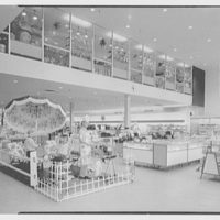Bee Hive department store, business in Patchogue, Long Island. General view, from front