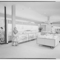 Bee Hive department store, business in Patchogue, Long Island. Girls' department