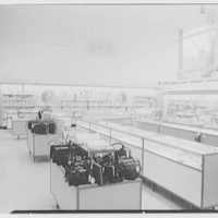 Bee Hive department store, business in Patchogue, Long Island. Hosiery and cosmetics
