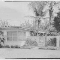 C. Sherwood Munsen, Jr., residence in Hobe Sound, Florida. Entrance detail