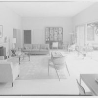 C. Sherwood Munsen, Jr., residence in Hobe Sound, Florida. Living room I