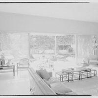 C. Sherwood Munsen, Jr., residence in Hobe Sound, Florida. Living room II